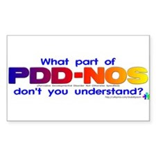 PDD-NOS? Rectangle Decal
