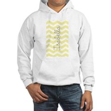 Personalized yellow chevron Jumper Hoody