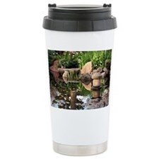 Japanese garden pond 2 Travel Mug