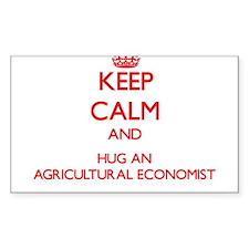Keep Calm and Hug an Agricultural Economist Sticke
