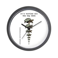 Cute Turtle Wall Clock