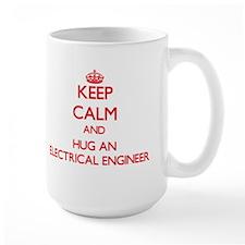 Keep Calm and Hug an Electrical Engineer Mugs