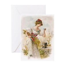 Refreshing Moment Greeting Cards