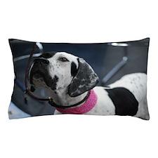 White and Black Pointer Pillow Case