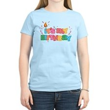 It's My Birthday Letters T-Shirt