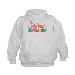 It's My Birthday Letters Kids Hoodie