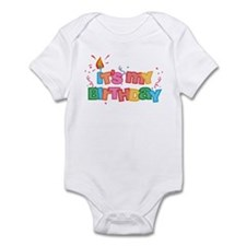 It's My Birthday Letters Infant Bodysuit