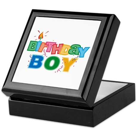 Birthday Boy Letters Keepsake Box