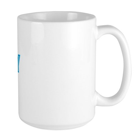 Birthday Boy Letters Large Mug