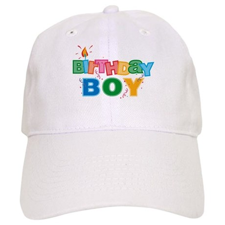 Birthday Boy Letters Cap