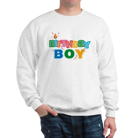 Birthday Boy Letters Sweatshirt
