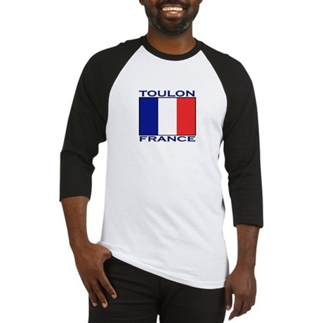 Toulon, France Baseball Jersey