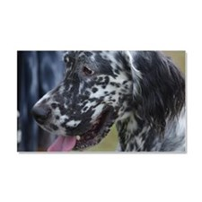 Profile of an English Setter Car Magnet 20 x 12