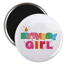 Birthday Girl Letters Magnet