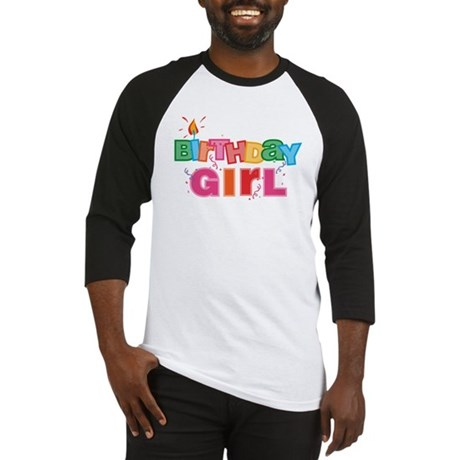 Birthday Girl Letters Baseball Jersey