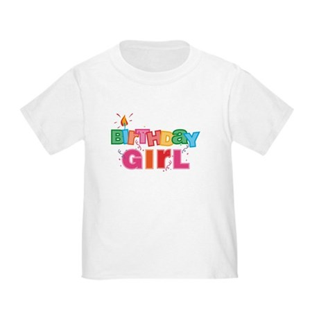 Birthday Girl Letters Toddler T-Shirt