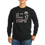 ER Nurse Long Sleeve Dark T-Shirt