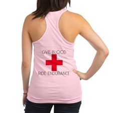 Give Blood Racerback Tank Top