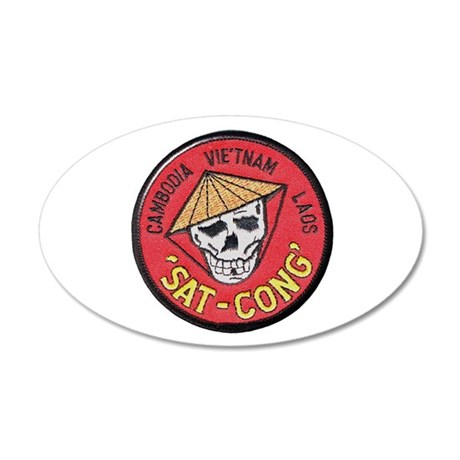 Sat-Cong Kill Communists Wall Decal