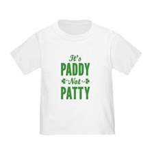 It's Paddy Not Patty T-Shirt