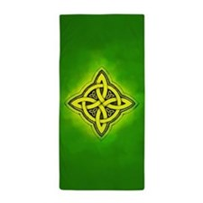 Celtic Luck Knot Beach Towel