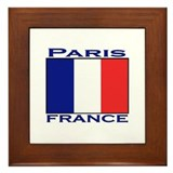 Paris, France Framed Tile