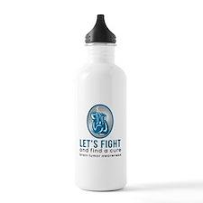 Lets Fight Brain Tumors Water Bottle