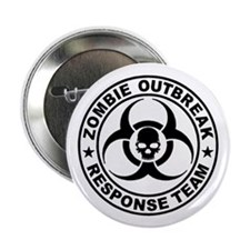 "Zombie Outbreak Response T 2.25"" Button (100 pack)"