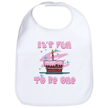 Fun To Be One Pink Bib