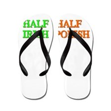 half Irish, half Polish Flip Flops