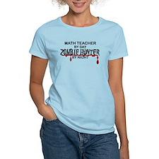 Zombie Hunter - Math Teacher T-Shirt