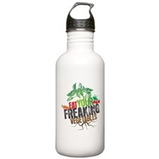 Eat Your Freaking Vegetables Water Bottle