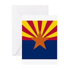 Flag of Arizona Greeting Cards