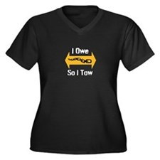 Tow Truck Driver Plus Size T-Shirt
