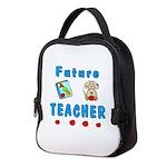 Future Teacher Neoprene Lunch Bag