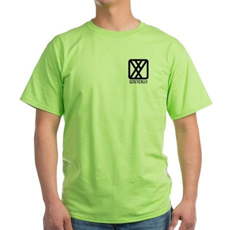 Genetically : Male Green T-Shirt