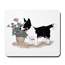 Tri Cardigan Welsh Corgi Mousepad