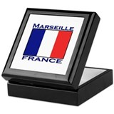 Marseille, France Keepsake Box