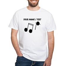 Custom Music Notes T-Shirt