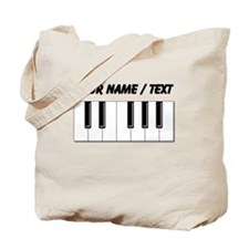 Custom Keyboard Keys Tote Bag