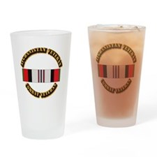 Afhganistan Veteran Drinking Glass
