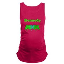 Custom Surname St. Patricks Sha Maternity Tank Top