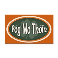 Pog Mo Thoin -ov Rectangle Car Magnet