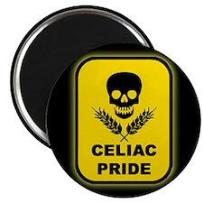 Celiac Skull Pride Magnet