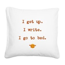 Unique Screenwriter Square Canvas Pillow