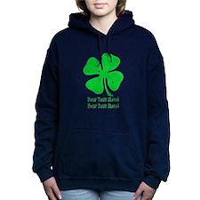 Personalize It, Shamrock Hooded Sweatshirt