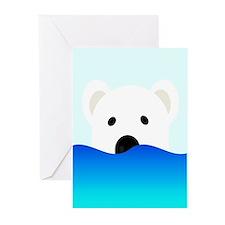 Arctic Bear Greeting Cards
