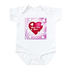 Star Burst Heart Infant Bodysuit