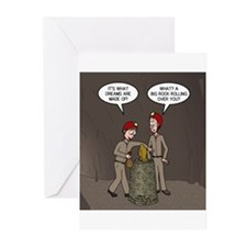 Caving Fun Greeting Cards (Pk of 20)