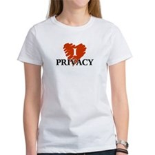 I Love Privacy Tee